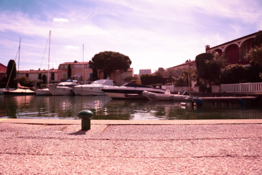 Les quais de Port Grimaud