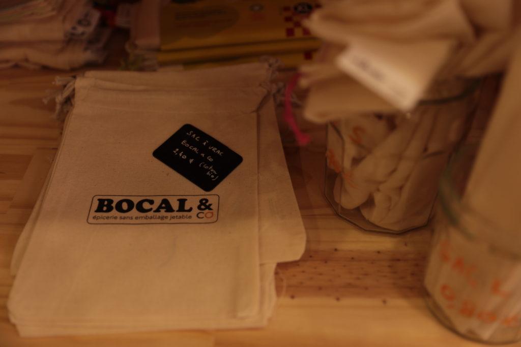 Le sachet en tissu by Bocal & Co