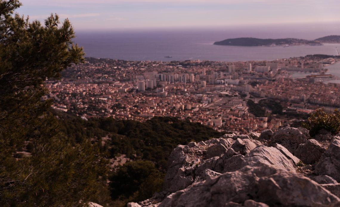 Toulon vue du Faron