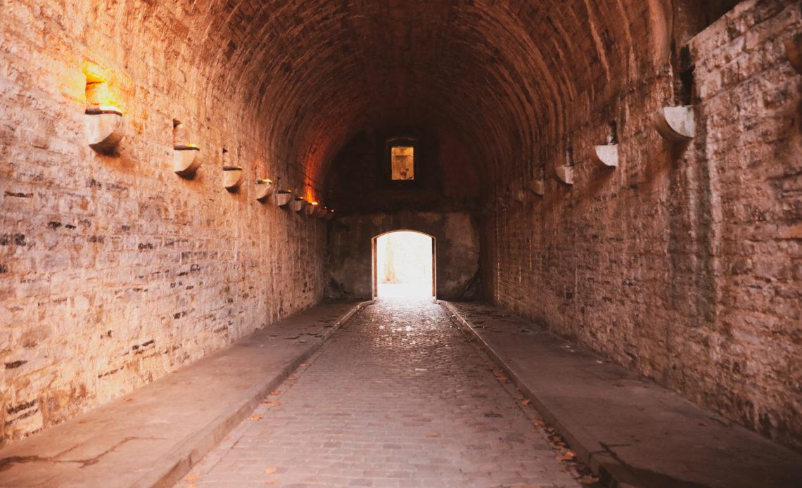 Entrée des fortifications de Bayonne